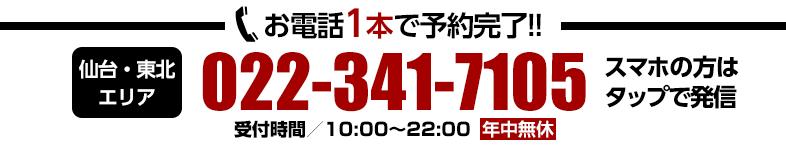 サザンクロス 仙台・東北エリアの電話番号 022-341-7105