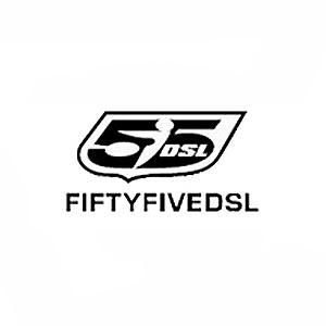 フィフティーファイブディーゼル ロゴ