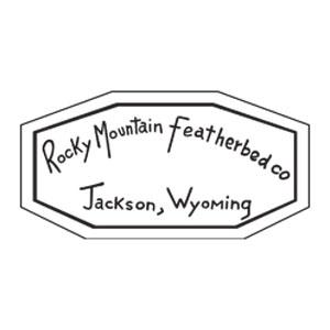 ロッキーマウンテンフェザーベッド ロゴ