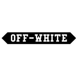 オフホワイト ロゴ